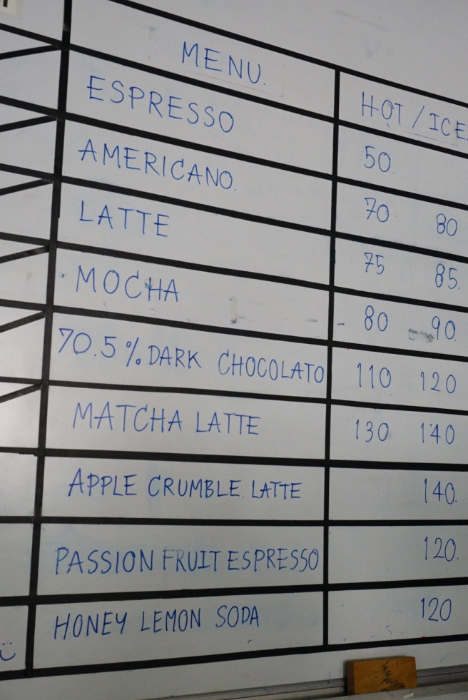 Akirart cafe ราคา